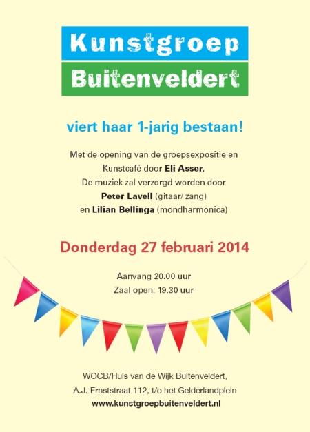 kunstcafe 27 feb 2014