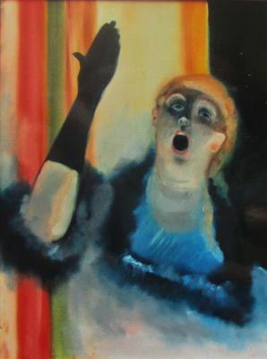 Degas: Chanteuse de Cafe-Concert