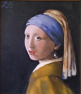 Meisje van Vermeer LB