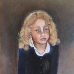 Portret van Rosa, olieverf op doek, 50x40 cm