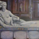 Venus, Godin van Liefde en Schoonheid, olieverf op doek, 100x150 cm