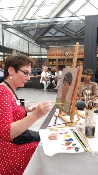 portretschilderen Gelderlandplein